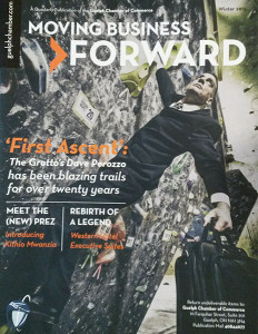 Moving Business Forward Magazine Cover