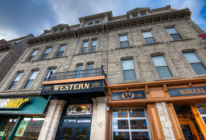 Western Hotel Exterior