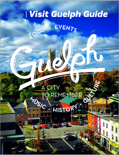 Guelph Visitor Guide Cover