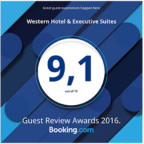 Western Hotel Booking.com Guest Review Award 2016