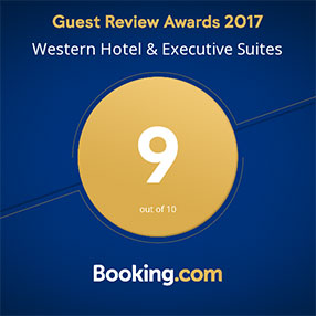 Western Hotel Booking.com Guest Review Award 2017